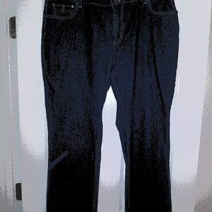 Ladies Style & Co Dark Denim Jeans (18)
